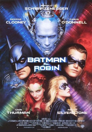 Cartel de Batman y Robin