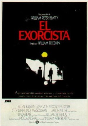Cartel de El exorcista
