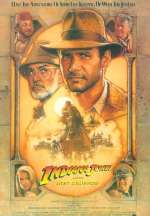 Cartel de Indiana Jones y la última cruzada