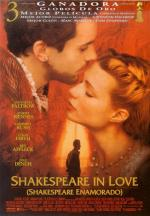 Cartel de Shakespeare Enamorado