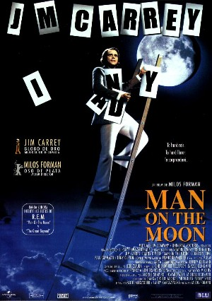 Cartel de Man on the Moon