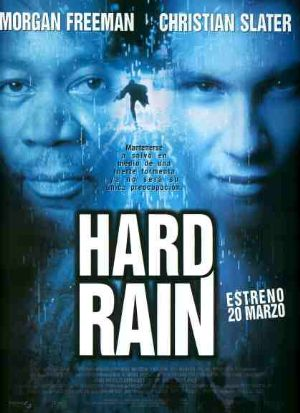 Cartel de Hard rain