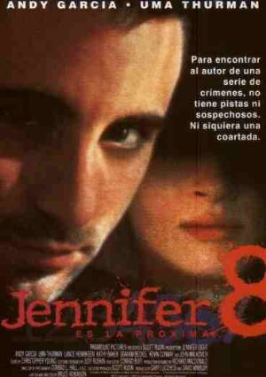 Cartel de Jennifer 8