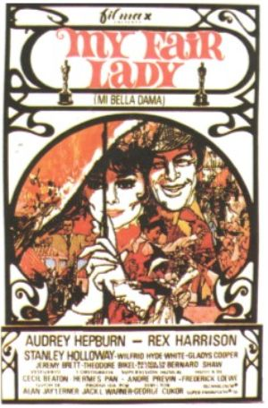 Cartel de My Fair Lady