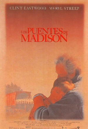 Cartel de Los puentes de Madison