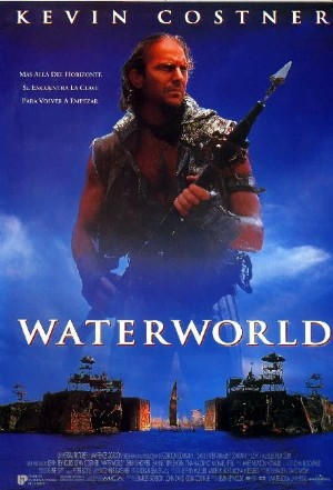 Cartel de Waterworld