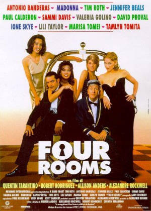 Cartel de Four Rooms