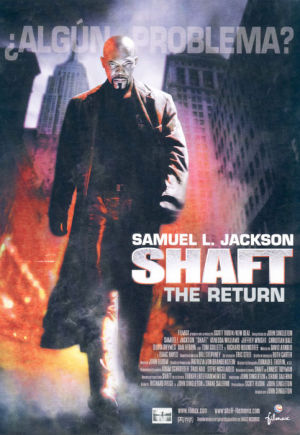 Cartel de Shaft. The Return