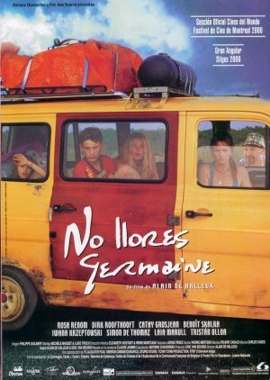 Cartel de No llores Germaine