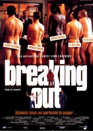 Cartel de Breaking out (Fuga en escena)