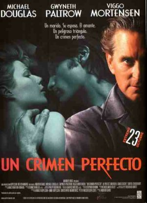 Cartel de Un crimen perfecto