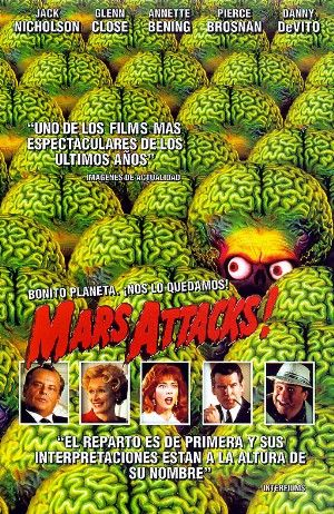 Cartel de ¡Mars Attacks!