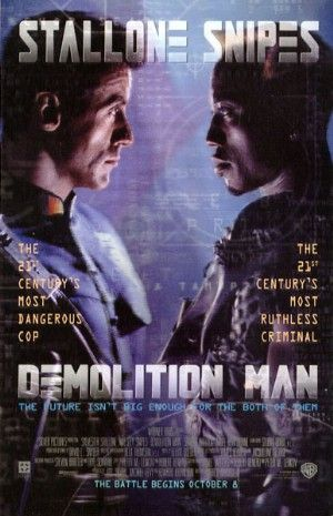 Cartel de Demolition Man