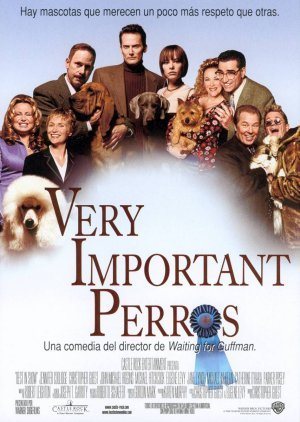 Cartel de Very Important perros
