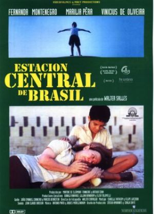 Cartel de Estación Central de Brasil