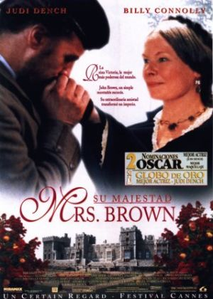 Cartel de Su majestad Mrs. Brown
