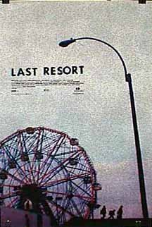 Cartel de The last resort