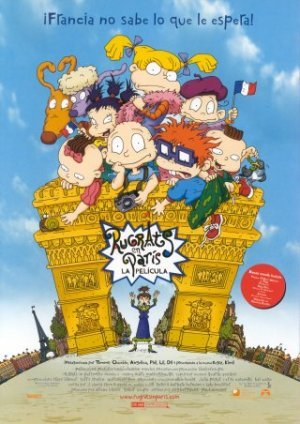 Cartel de Rugrats en Paris