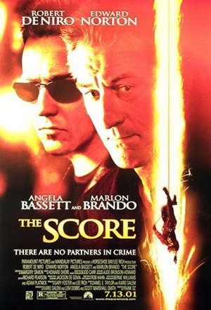 Cartel de The Score (Un golpe maestro)