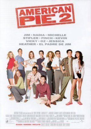 Cartel de American Pie 2
