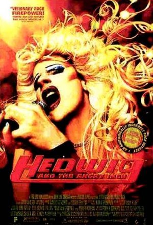 Cartel de Hedwig and the angry inch