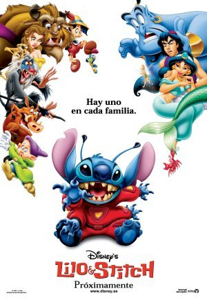 Cartel de Lilo y Stich