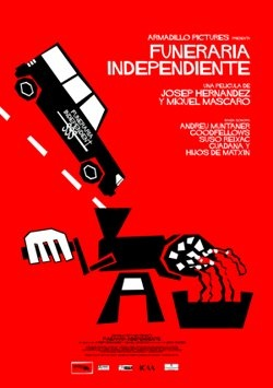 Cartel de Funeraria independiente