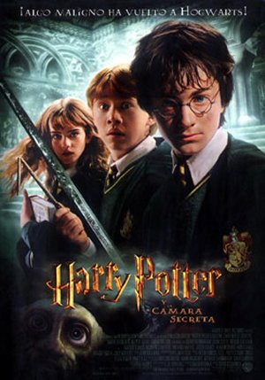 Cartel de Harry Potter y la cámara secreta