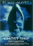 Cartel de Ghost ship (Barco fantasma)