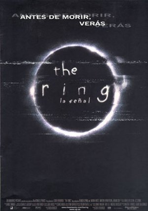 Cartel de The ring - La señal