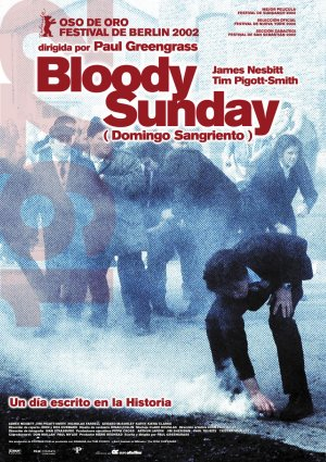 Cartel de Bloody sunday (Domingo sangriento)