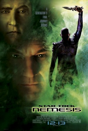 Cartel de Star Trek - Nemesis