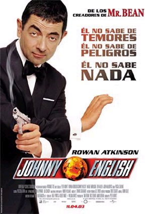 Cartel de Johnny English
