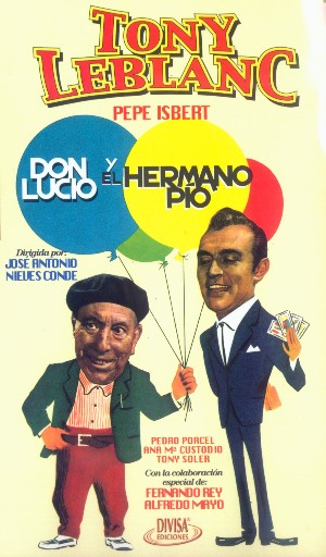Cartel de Don Lucio y el hermano Pío