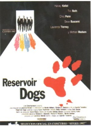 Cartel de Reservoir Dogs