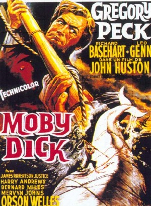 Cartel de Moby Dick