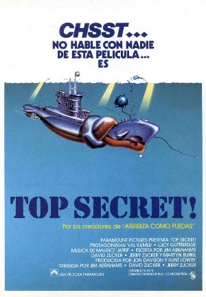 Cartel de Top Secret!