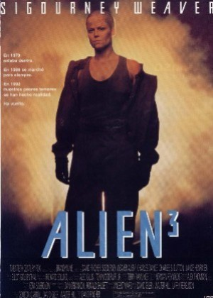 Cartel de Alien 3