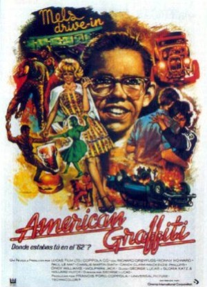 Cartel de American Graffiti