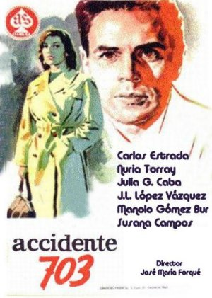 Cartel de Accidente 703
