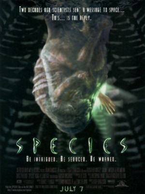 Cartel de Species (Especie mortal)