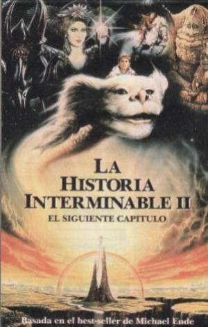 Cartel de La historia interminable II