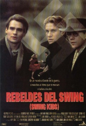 Cartel de Rebeldes del swing