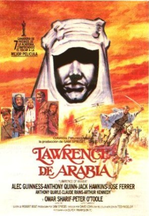 Cartel de Lawrence de Arabia