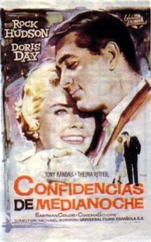 Cartel de Confidencias a medianoche