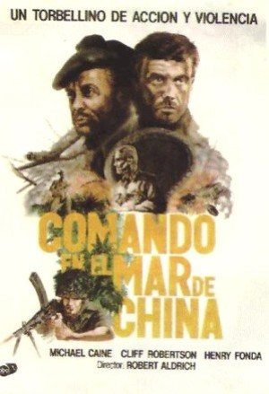 Cartel de Comando en el mar de China