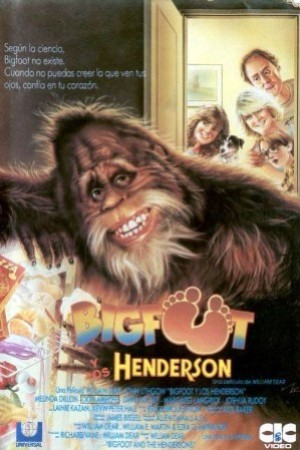 Cartel de Bigfoot y los Henderson