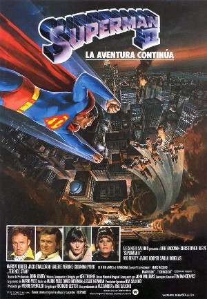Cartel de Superman II