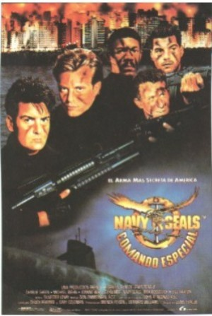 Cartel de Navy Seals: Comando Espacial
