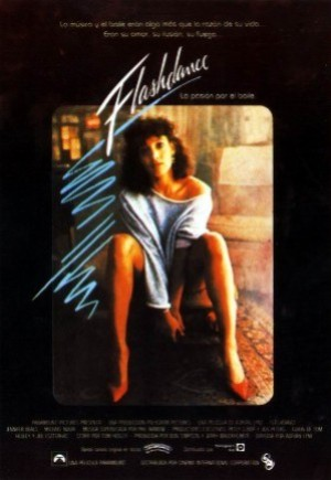 Cartel de Flashdance